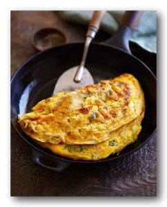 Cold cuts Omelet
